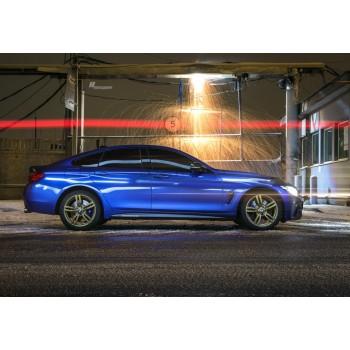 Наклейки боковых порогов M Performance BMW F32 design ноябрь 2015