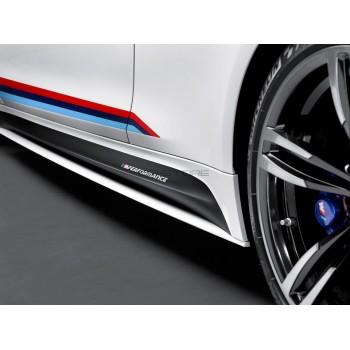 Наклейки боковых порогов M Performance  BMW F30 design ноябрь 2015